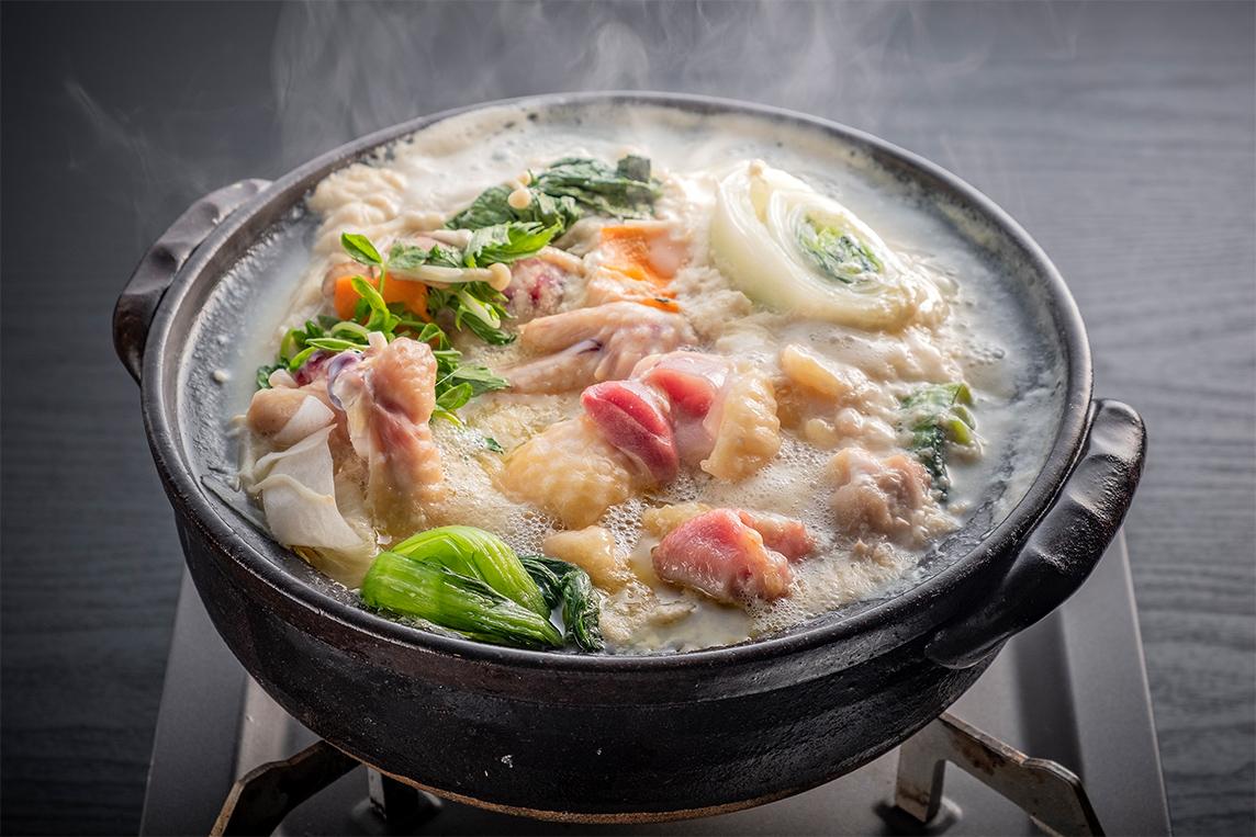 みやざき地頭鶏の鶏鍋