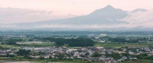 霧島連山を臨む都城市の豊かな環境